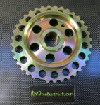 Duratec Underdrive Pulley 164mm Trigger Wheel-0