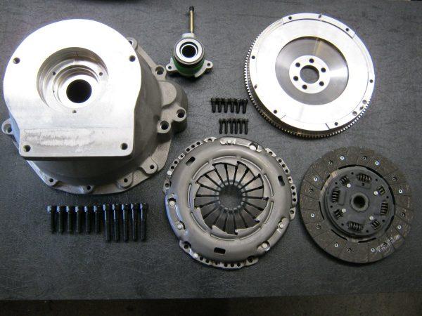 VW / Audi 1.8 Litre to Borg Warner T5 Bellhousing Kit-0