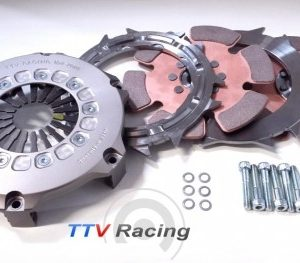 "TTV twin plate 7 1/4"" (184mm) paddle clutch-0"