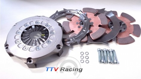 """TTV twin plate 7 1/4"""" (184mm) paddle clutch-0"""