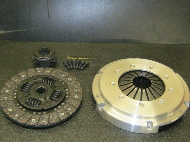 RWD MOTORSPORT HEAVY DUTY PINTO CLUTCH COVER AND CLUTCH PLATE